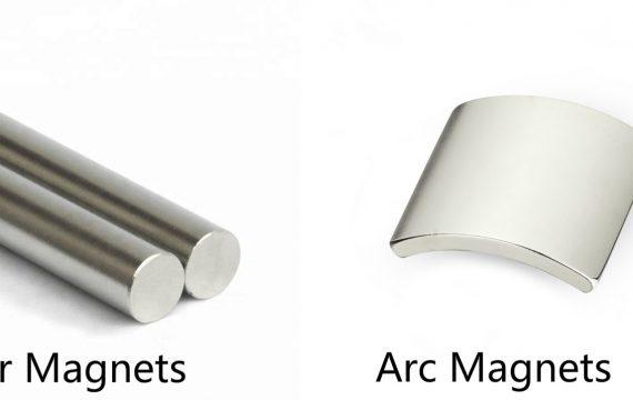 neodymium bar arc magnet