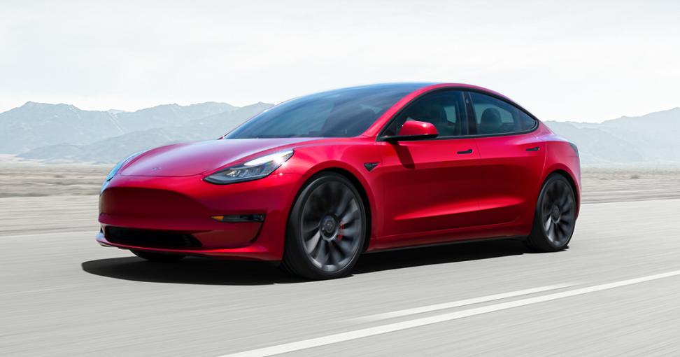 Permanent Magnet Motor in Model 3 Tesla