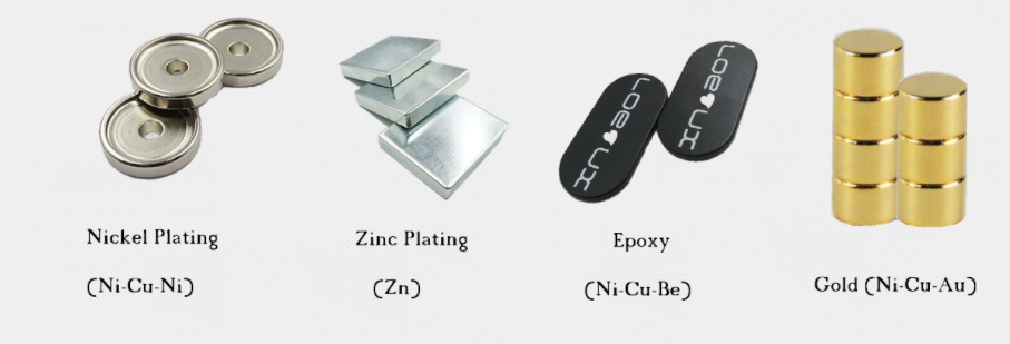 What Are the Differences between Nickel Plating and Zinc Plating on Neodymium Magnets?