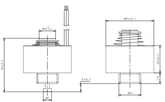 round tube electromagnet