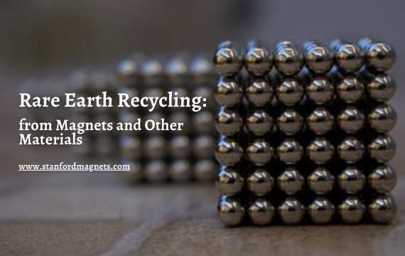 Rare Earth Recycling from Magnets